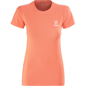 Haglöfs L.I.M Tech T-shirt Femme, coral pink